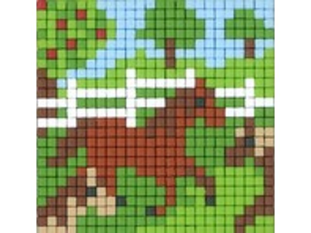 pixelhobby pferd pixelhobbyset  pixelhobby bp45058  toyplus